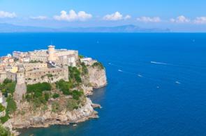 Castle in Gaeta, Italy