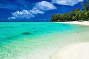 Beach in Rarotonga, Cook Islands