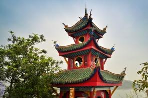 Shibaozhai pagoda, China