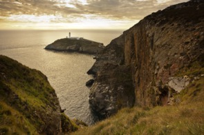 South Stack Lighthouse near Holyhead, Wales
