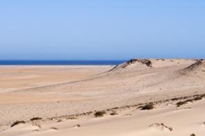 Desert at Dakhla, Western Sahara