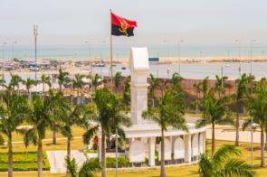 Monument in Luanda, Angola