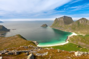 Leknes, Lofoten Islands, Norway