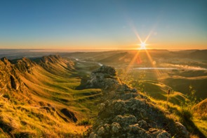 View from Te Mata Peak near Napier, New Zealand