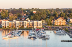 Charlottetown harbour, Canada