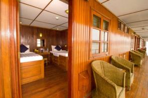 Pandaw II room and deck