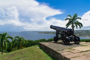 Fort King George in Scarborough, Tobago