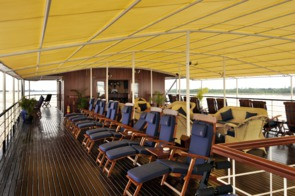 Pandaw Expeditions RV Orient Pandaw deck