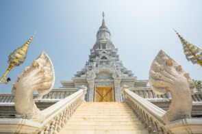 Stupa in Oudong, Cambodia