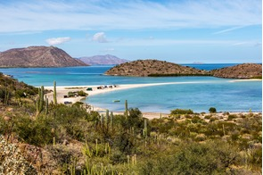 Beach on the Sea of Cortez, Baja California, Mexico