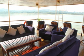 Pandaw Expeditions RV Kalay Pandaw deck