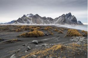 Landscape at Vestrahorn near Hofn, Iceland