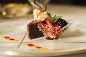 Regent Seven Seas chocolate dessert
