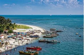 Beach in Dar Es Salaam, Tanzania