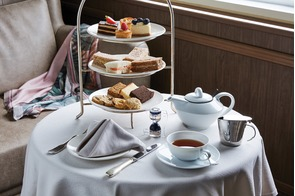 Silver Explorer - Afternoon tea in the Panorama Lounge