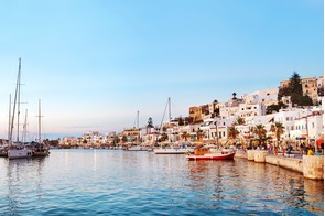 Naxos old town, Greece