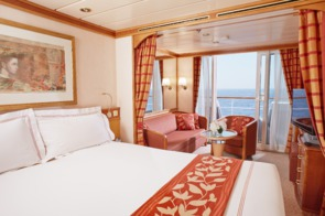 Regent Seven Seas Mariner Deluxe and Concierge Suite