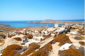 Ruins of Delos, Greece