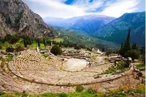 Amphitheatre at Delphi, Greece