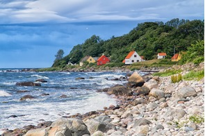 Houses in Bornholm, Denmark