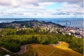 Astoria, Oregon and the Columbia River