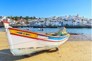 Boat in Portimao, Portugal