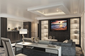 Regent Seven Seas Splendor - Master Suite living room