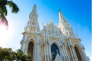 Cathedral in Vitoria, Brazil