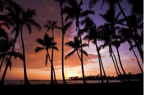 Sunset in Kailua-Kona, Hawaii