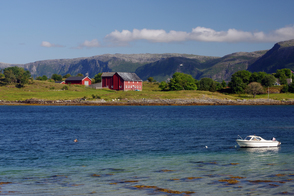 Landscape near Bronnoysund, Norway