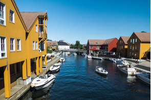 Houses in Kristiansand, Norway