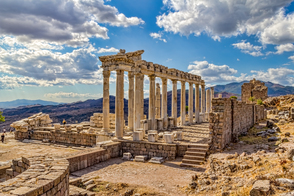Temple of Trajan at Pergamum, Turkey