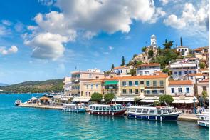 Poros Town, Greece