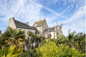 Saint Trinité Basilica in Cherbourg, France