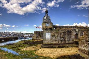 Ville Close in Concarneau, France