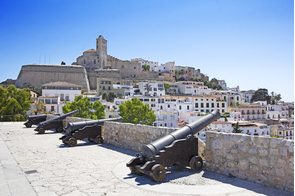 Dalt Vila in Ibiza, Spain