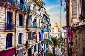 Streets in Algiers, Algeria