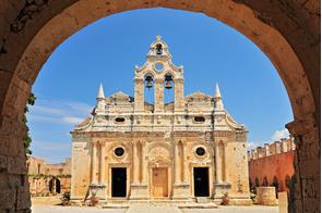 Arkadi Monastery near Rethymnon, Crete