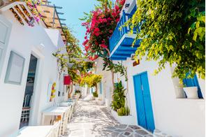 Streets of Paros, Greece
