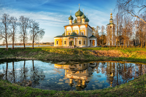 Transfiguration cathedral at Uglich, Russia