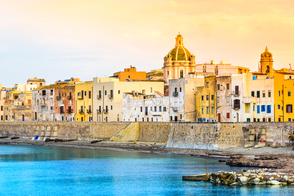 Trapani harbour, Sicily