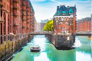 Speicherstadt in Hamburg, Germany
