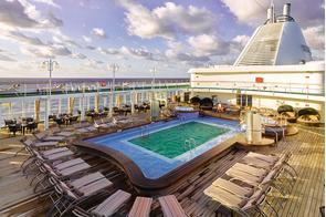 Silver Shadow & Silver Whisper - Pool deck