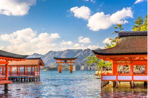 Miyajima shrine gates, Japan