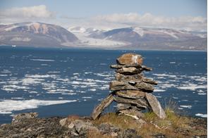 Inukshuk, Baffin Island