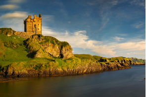 Gylen Castle on the Isle of Kerrera, Scotland