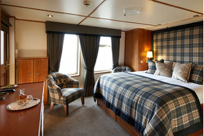 Hebridean Princess - Isle of Bute cabin