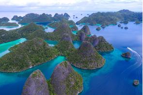 Wayag islands, Raja Ampat, Indonesia
