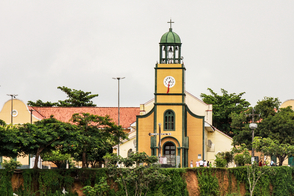 Church in Parintins, Brazil