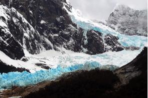 Italia Glacier in Alberto de Agostini National Park, Chile